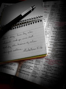 bible-and-notes